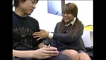 at sister teacher japanese home my private Lick wife after