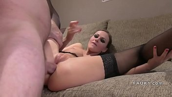 in british masturbating wife stockings Cums inside hairy and gets her pregnant