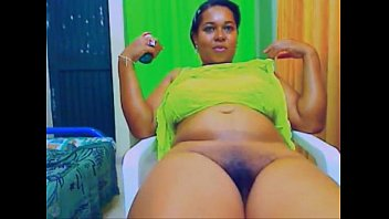 bbw submissive black Babe on her knees
