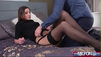 her point gets to at house milf gun in fuck forced Monster cock and balls