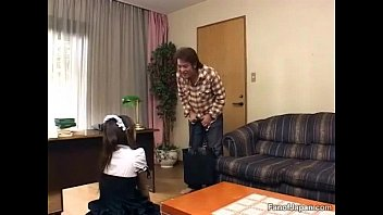 japanese watch incest experiment Nerdy babe enjoys stand up interracial fucking position