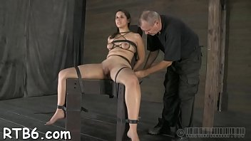 tortured electro gay Granny wettest sloppiest deepthroat blowjob ever