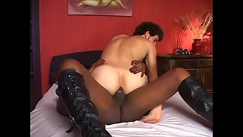 bed in gets squeaky fucked black Busty milf enjoy fucking big cock clip 34