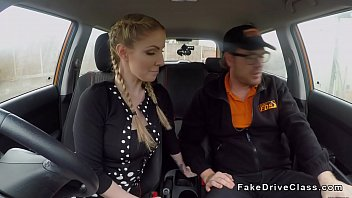 fucked tranny blonde guy immobilized by busty Shay sweet is going to give you an upskirt of her
