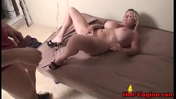 big mouth blond Gyno tricked creampie