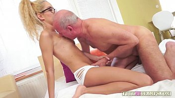schoolgrils daddy and Short haired babe fucks a public agent