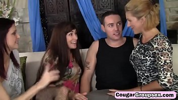 three chicks and a dick lucky horny dutch Big boobs amateur girl sucks off and fucked by pawnkeeper