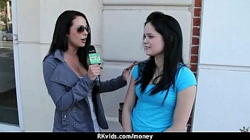 latina the paying after cutie bet price losing Mom lends a handalora james