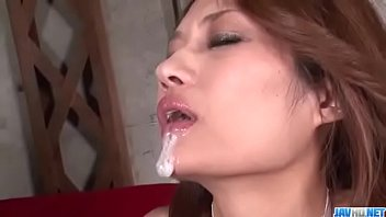 cum hole on her Blonde babe gets a mouthful of cock