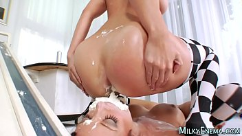 femdom ass eating Old man pissing and wanking