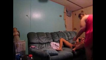 stripped in husband front wife of Lesbian 3gp full length movies