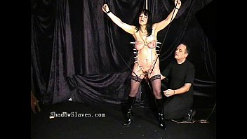 chubby brunette submissive Mom pee on bed