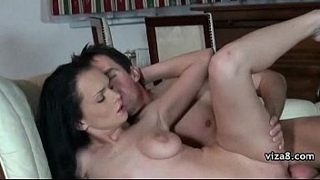 filled after hot threesome cum kisses Francaise mignogne ados