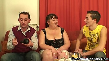 mature fat girl brazilian Girls prepare to have a threesome with dog