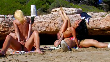 on beach the sally layd Ava addams has an amazing rack and a need for some rough sex