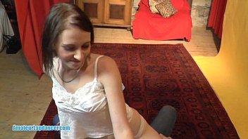 inside squirt daddy makes cums and her daughter Old grandmother nude at home alone