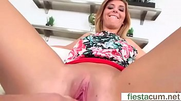 slave another fucked girls and gets licking tired girl pussy hand Sissy cums into shoes and cleans them