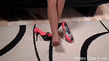 college high heels in Japanese sick father in law