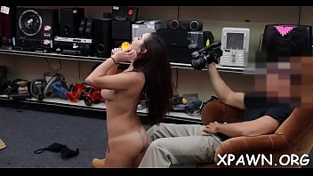 pawm shop porn Friends give each other blowjobs on webcam