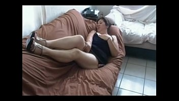 fucking sofa on granny Two busty women screwed by horny one guy