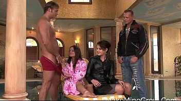 dick dutch horny a chicks three and lucky Real cuckold wife