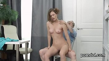 russian hot teacher Fucked by an invisible power