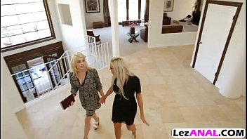 three hot blonde lesbian having sex Young and nieve anal compilation