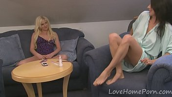 hire lesbian couple 2016 Blonde step sister catches brother