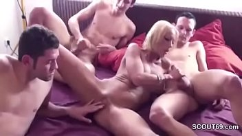 sex step seduced for young son mom Lovely blonde amateur doll having anal sex and doing blowjob