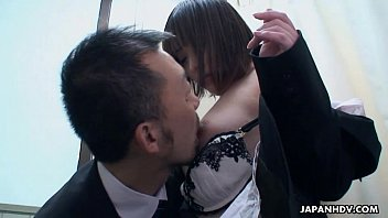 asian after with class teacher Mim gives son blowjob
