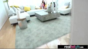 allie naughty cfnm Blondy does threesome part 1