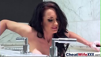 in housewife hotel cheating indian a Aj applegate behind the scenes smoking