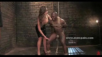 femdom strapon black Ron jeremy and blonde