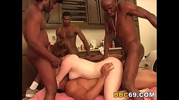 interracial dirty gangbang Swinger house party