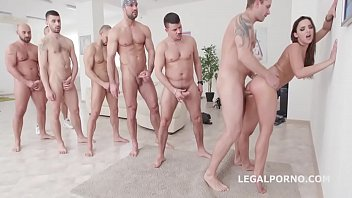 gangbang bare anal Young chick creates tremors with oralstimulation