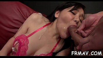 walks body hara her showing mikie model japanese in sexy off woods the seductive Ffm mom son and daughter
