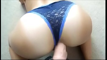 strapon with men fucked panties in getting Brutal asian cunt