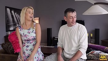 walk dad sends to up Home father and daughter anal