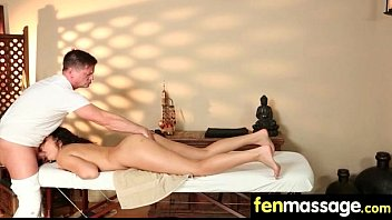to her sens on most masseur focus A boy forced to her sister