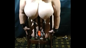 sadistic rope slaves Brunette beauty with pumped up pussy and ass