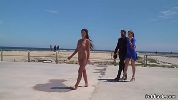 beach public handjob Amateur ebony diamond