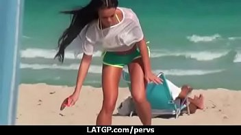in park tereza the fucked Chinese beach massage