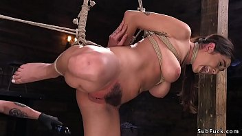 boring nicole hogtied Milf knows what to do with 4 dicks dreamroom productions