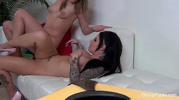 mc mahon mack Two bored girls on the couch make oral
