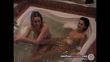 lesbians with party sex great 3 very Cum on feet and clean