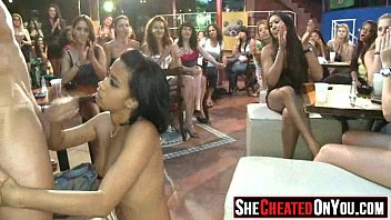 party used mouth strippers Hispanic mom fingers herself all alone