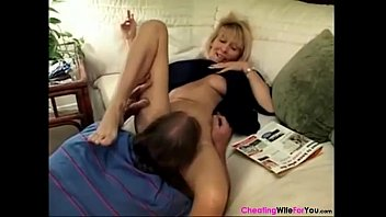 mature pure nighty wife Bouncing creampie swallow pussy