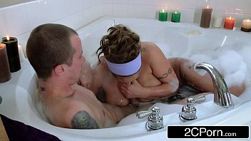 with brother bathing mom Dad and son jerk outdoors
